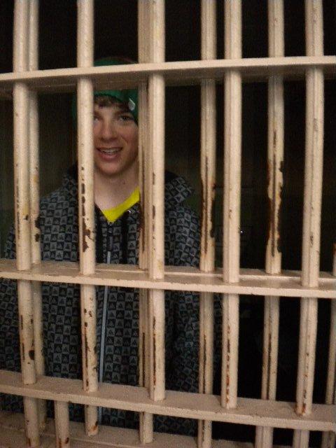 In Jail at Alcatraz