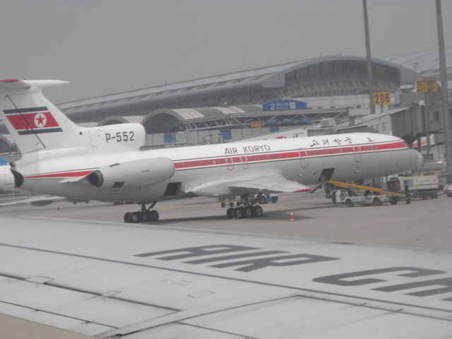 North Korean Plane