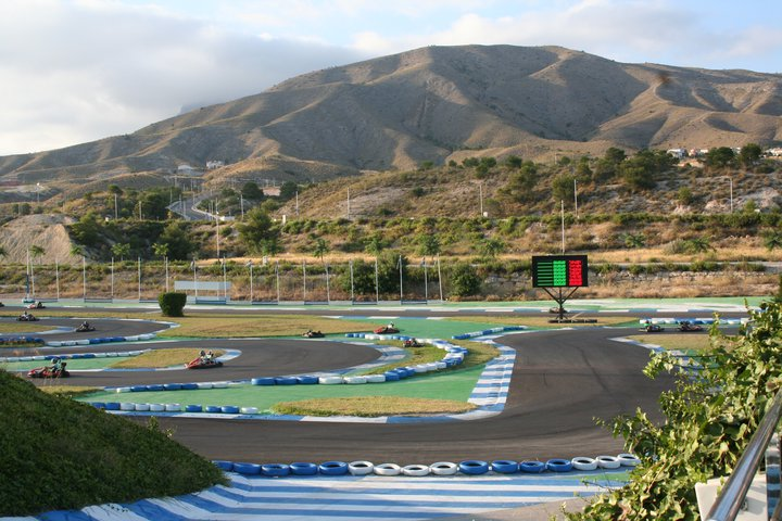 Go-Kart Place in Spain