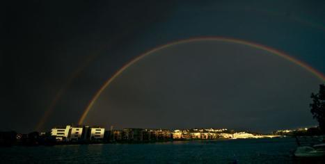 Double rainbow?