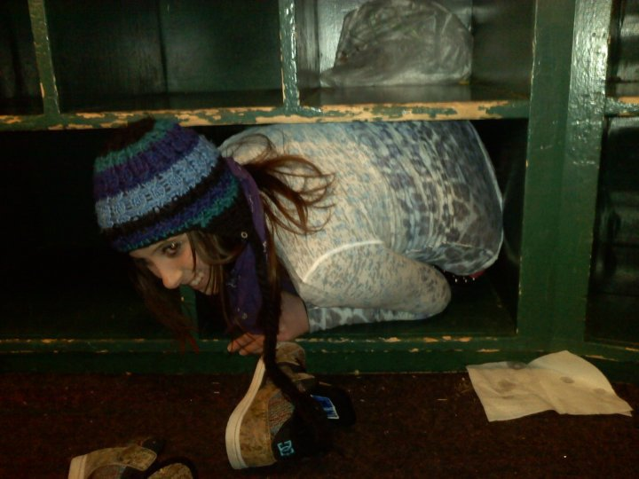 I can fit in a cubby