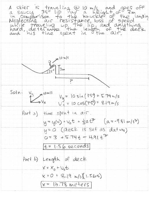 Helping the physics problem kid.