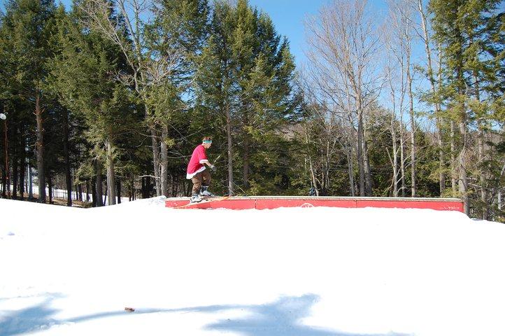 Ski slide bindsoul