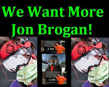 Jon Brogan: More of