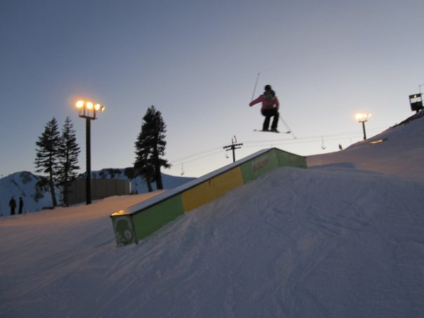 Squaw -almost night time