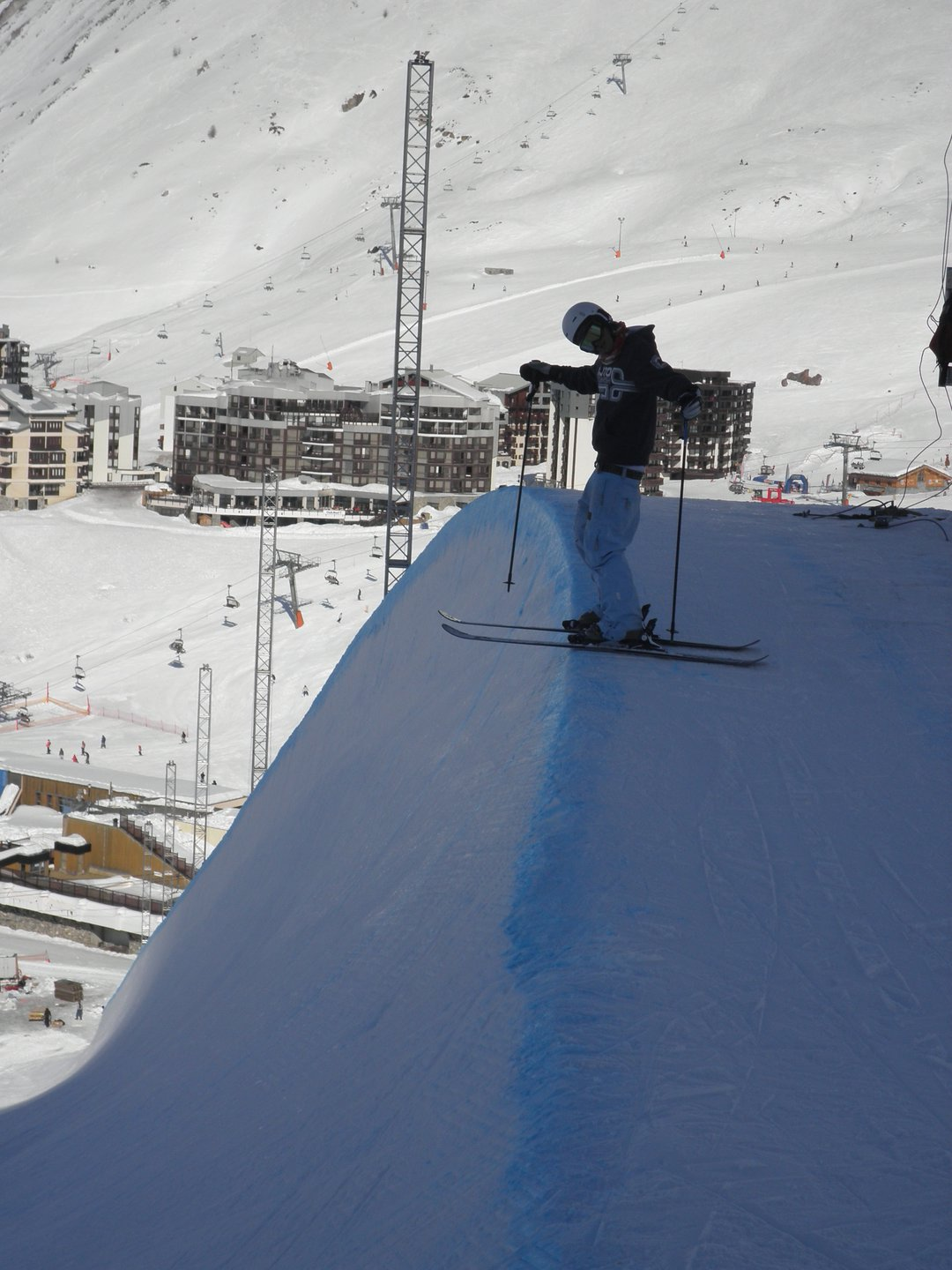 Tignes X-games superpipe