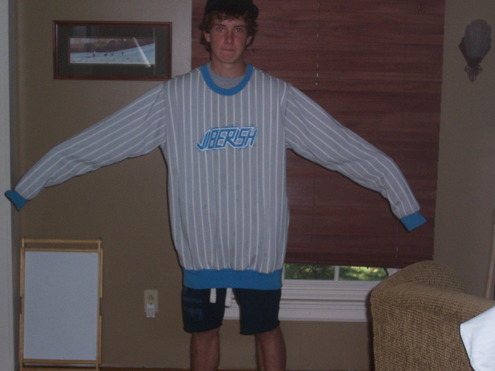 Me wearing jiberish im 5'9''