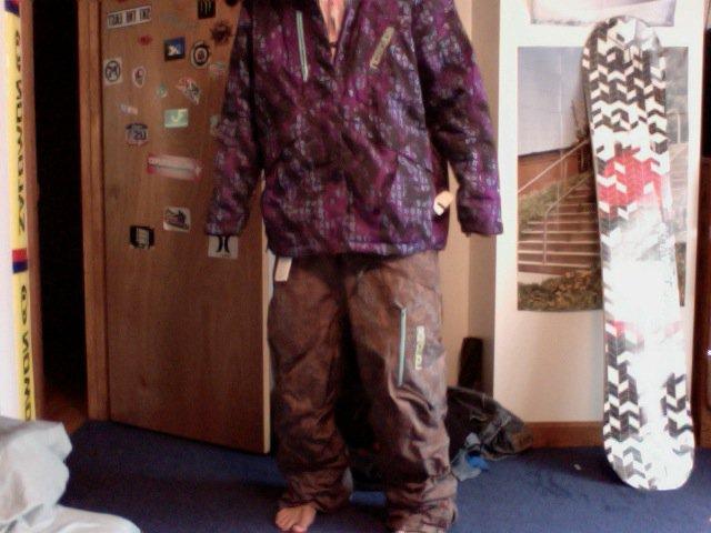 Salomon jacket   Pants