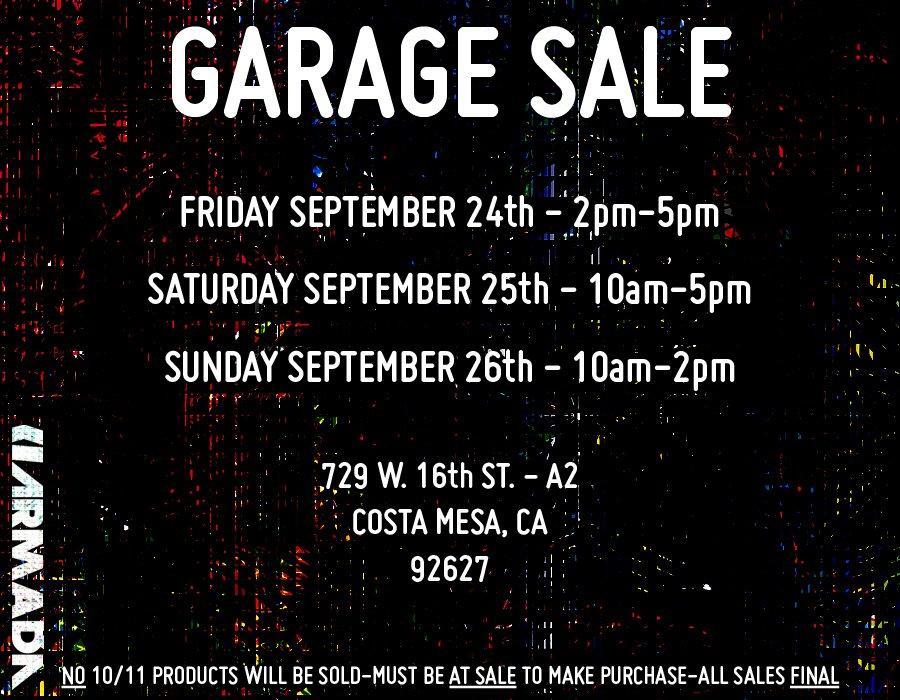 Armada Garage Sale