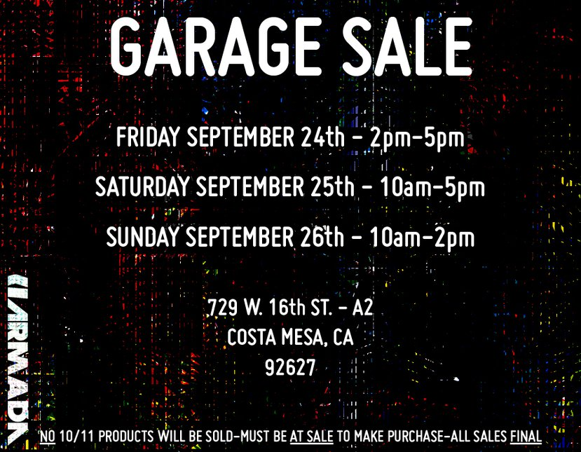 Armada Garage Sale