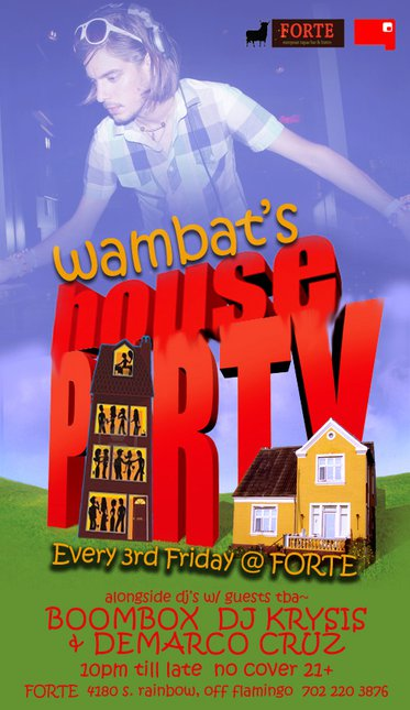 Wambat's House Party