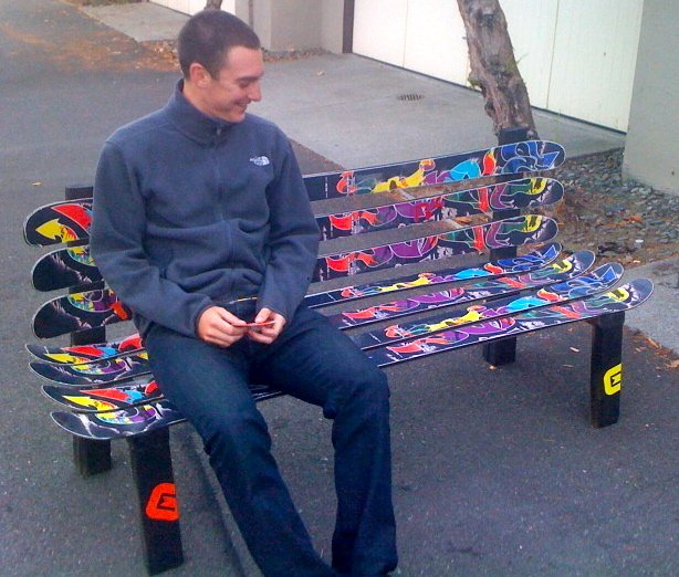 BOONE Magic Sticks Bench