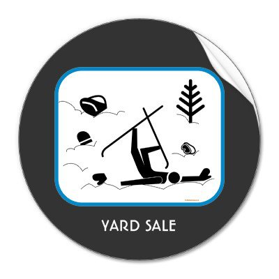 Yard Sale. Exactly what it says there.