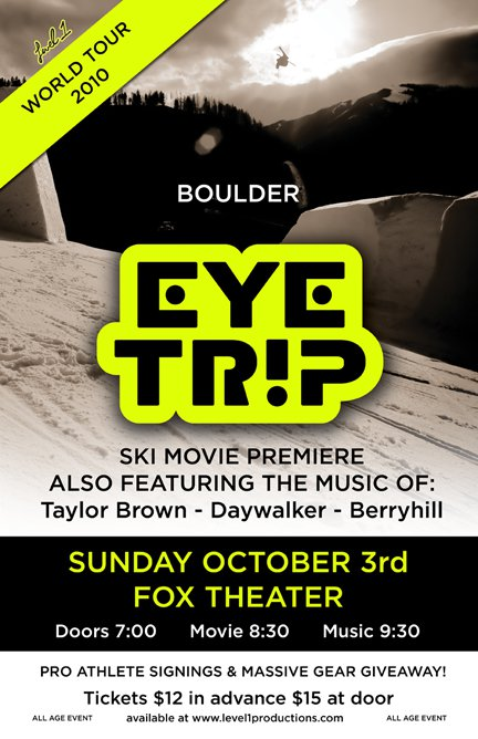 Eye Trip Boulder Poster