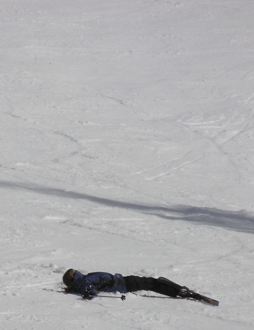 And like this one time. I fell over.