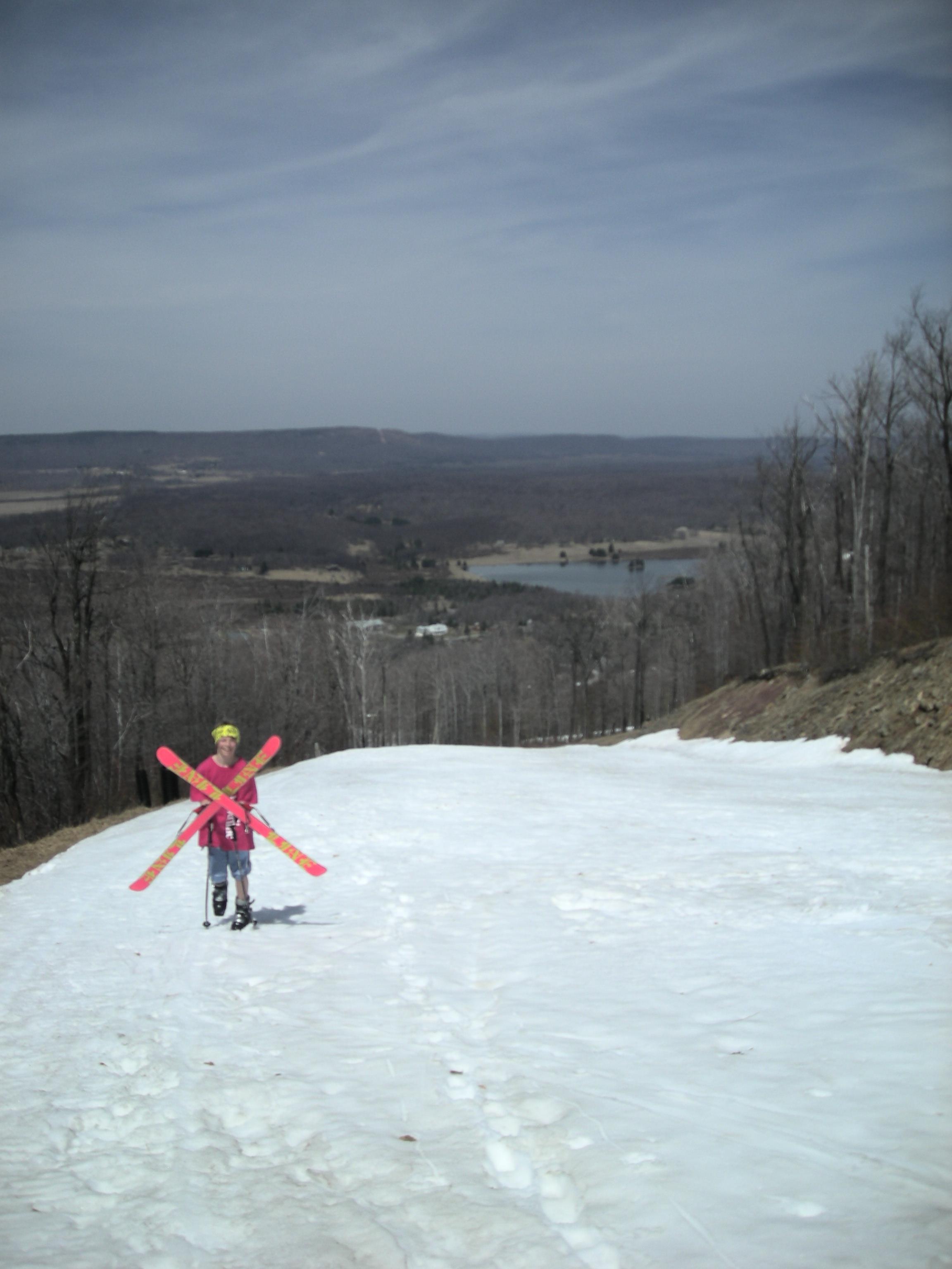 Spring skiing in WV