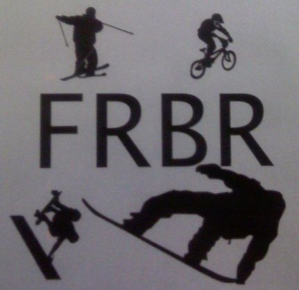 For Riders By Riders [FRBR] Logo