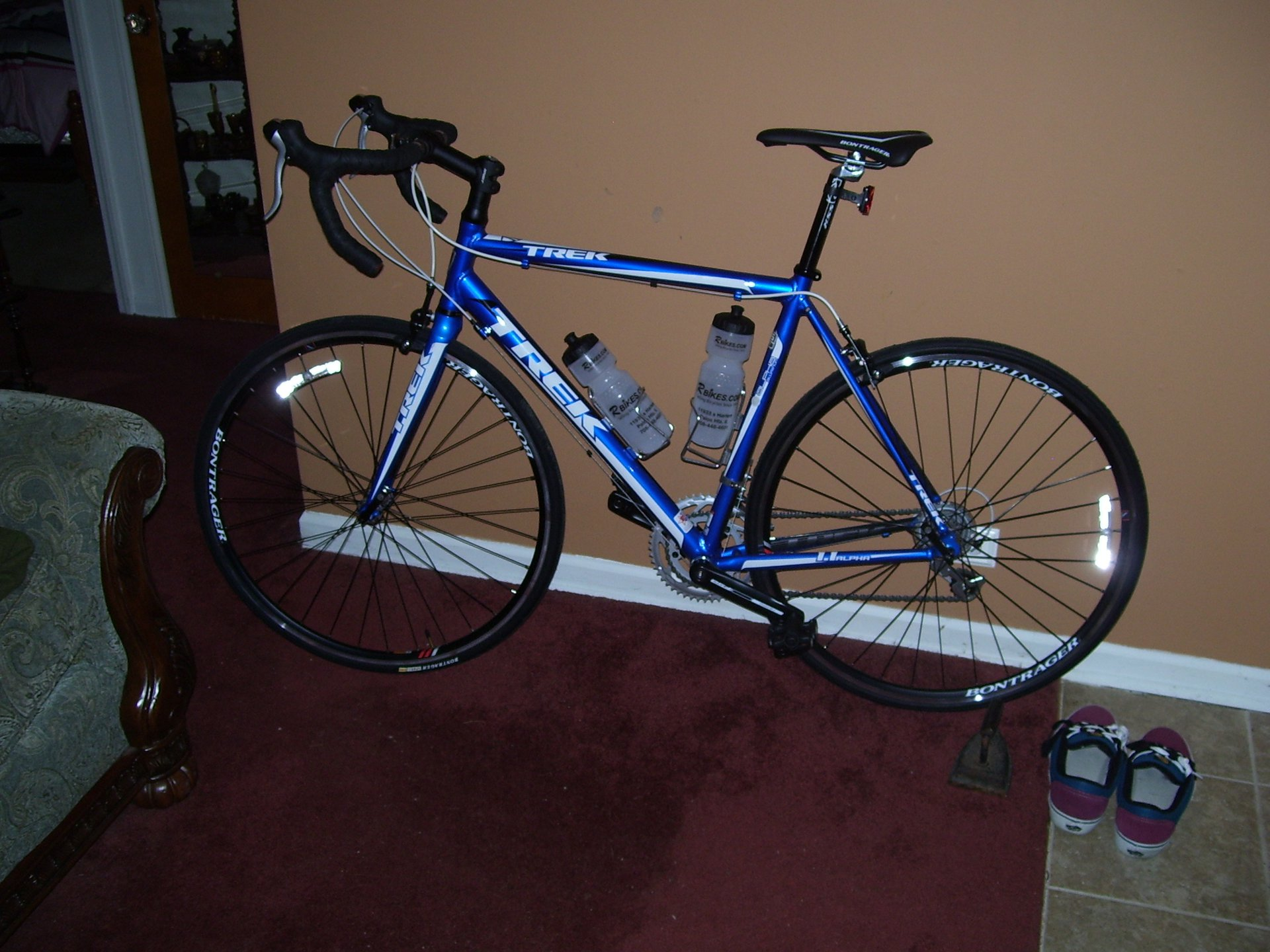 My new cycling bike it's pretty cool