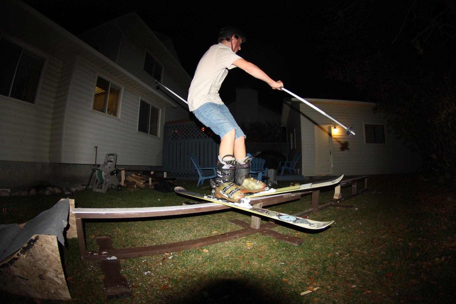 Back yard rail