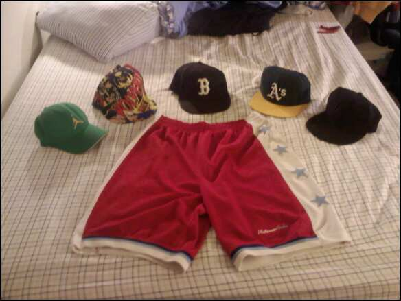 Hat and Shorts