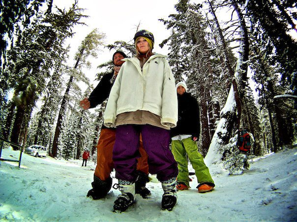Skiing oct 5, Mammoth lifestyle