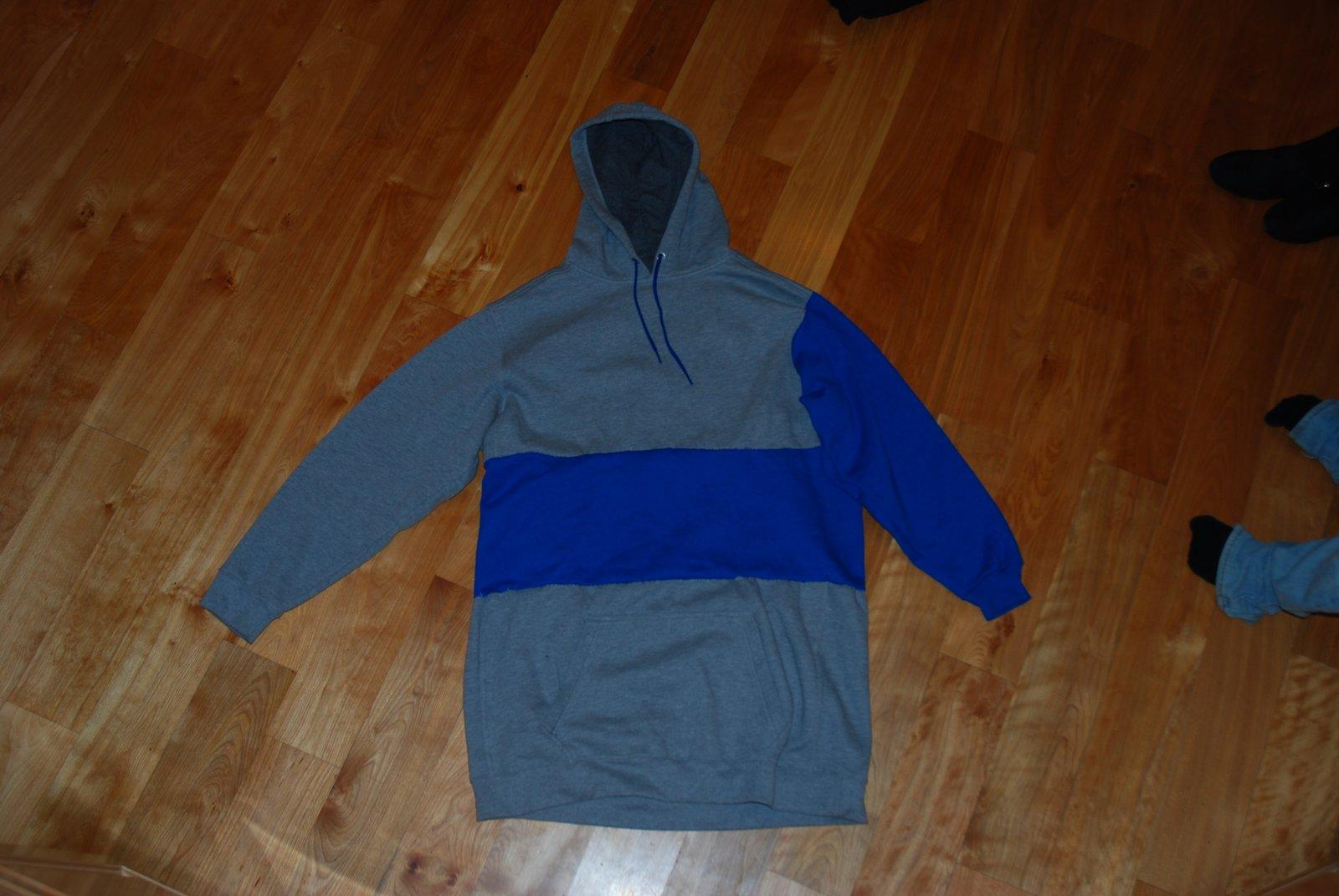 Custom tall hoody for sale