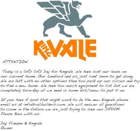 Kingvale-closing