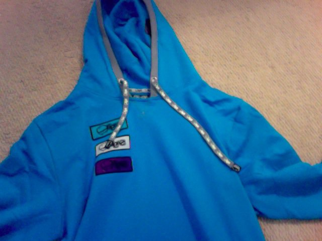 Saga Outerwear Patch PullOver Sweatshirt- Open Water