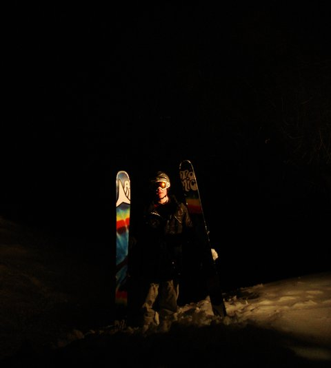 Night Session At Temple Basin