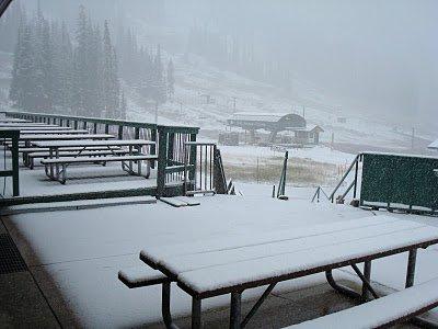New snow at Abay 2010