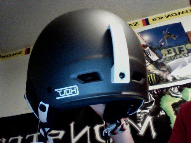 Back of helmet
