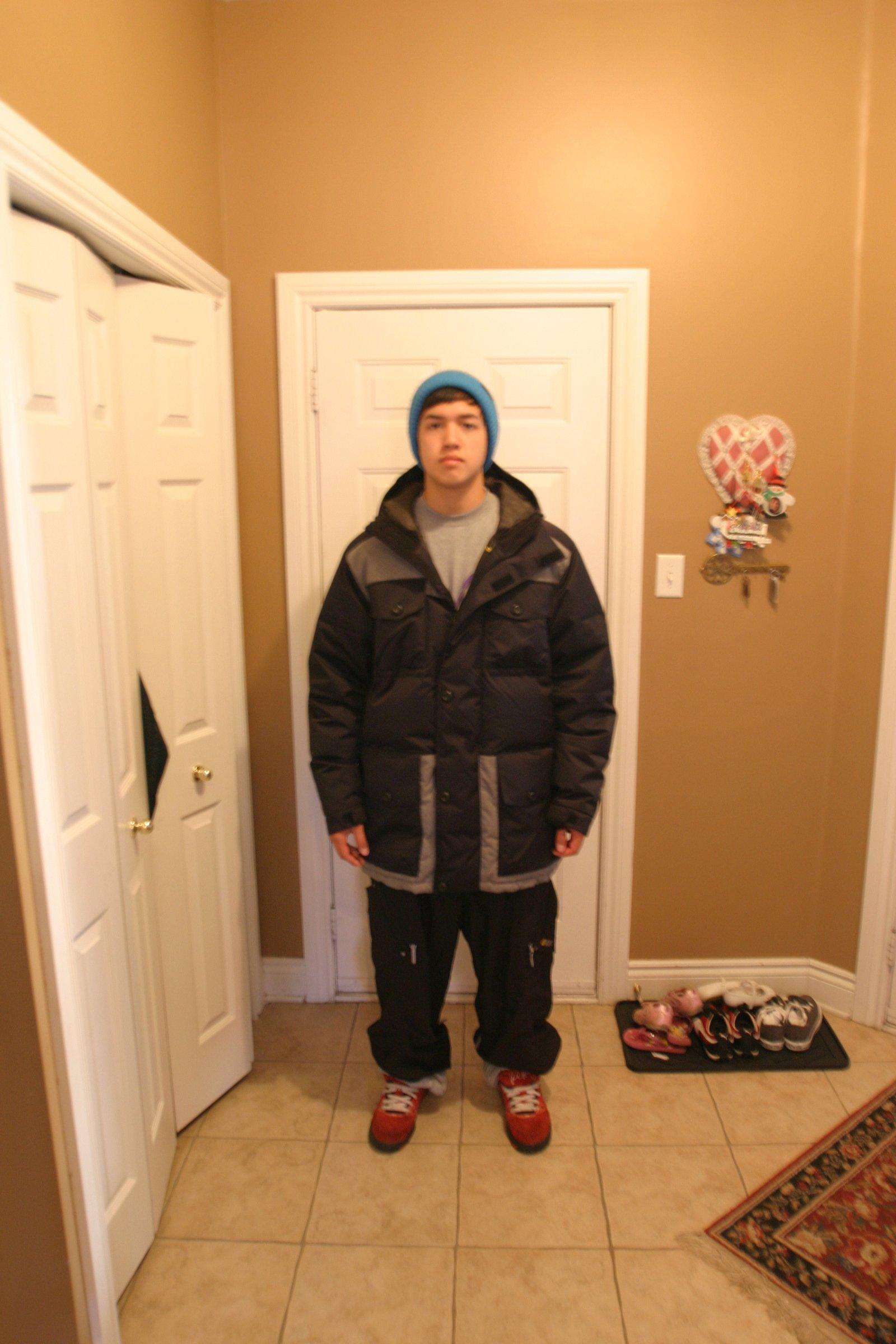 Size Reference B-Dog Orage Jacket XL
