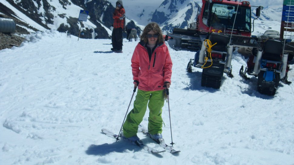 On top of Blackcomb in Whistler 2010