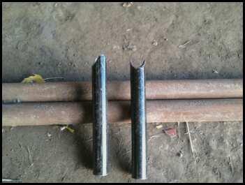 Rail legs