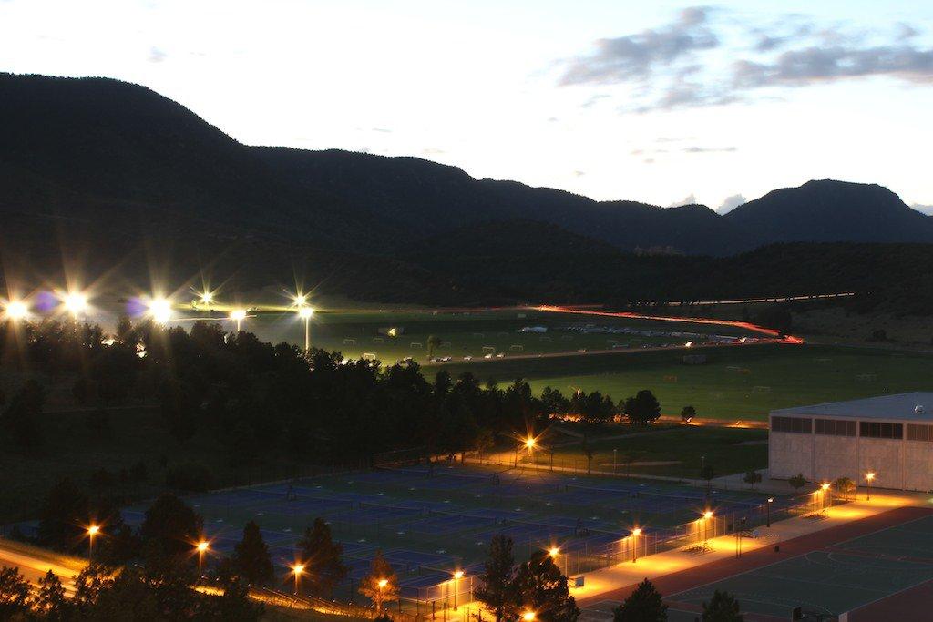 USAFA at twilight