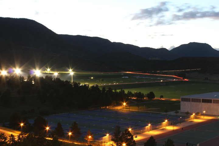 USAFA at twilight