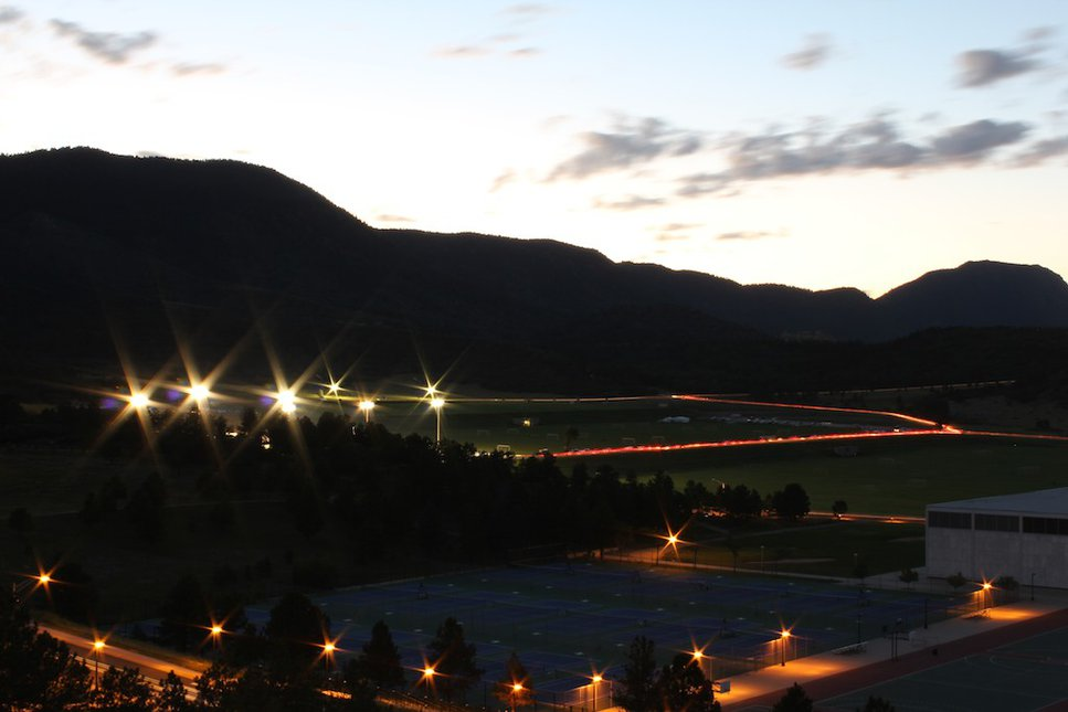 USAFA at twilight 2