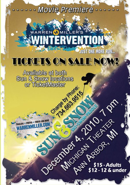 Warren Miller Wintervention