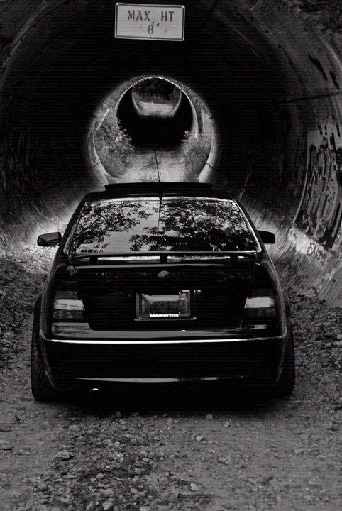Tunnel Shoot - My 2005 mkIV Gli