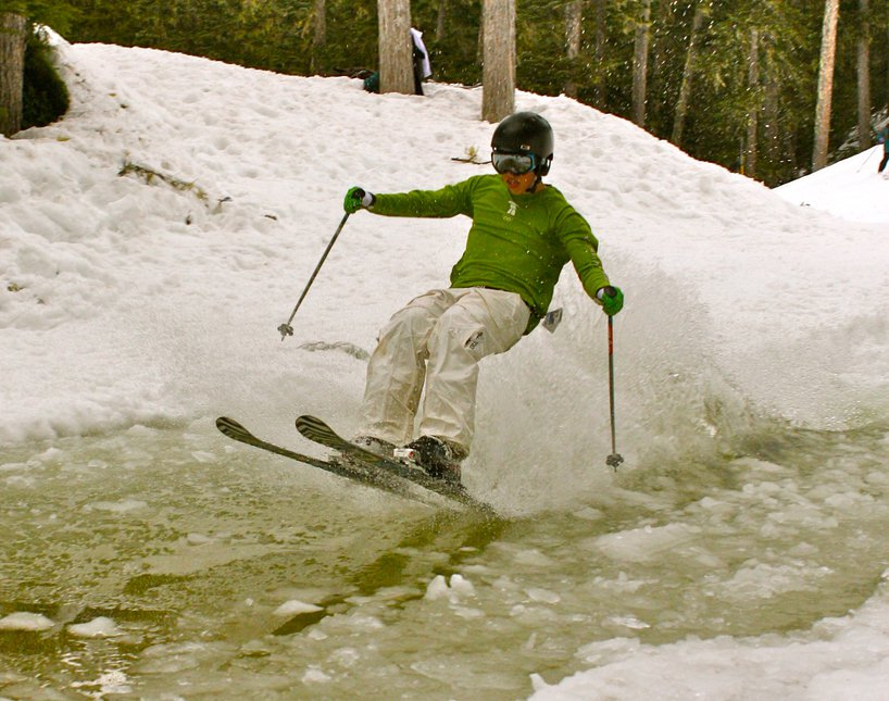 Pond skimming