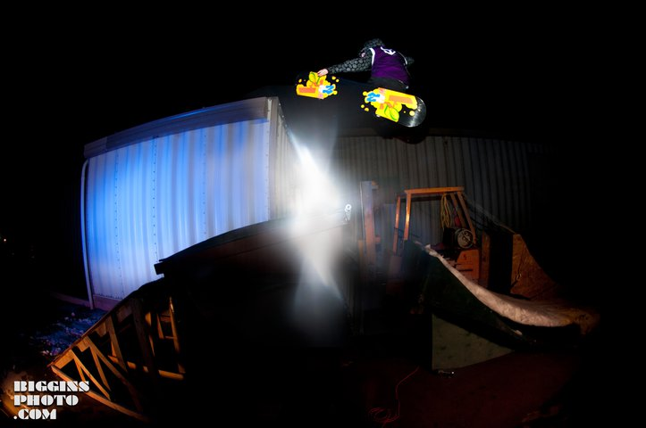 Dying To Shred Rail Jam