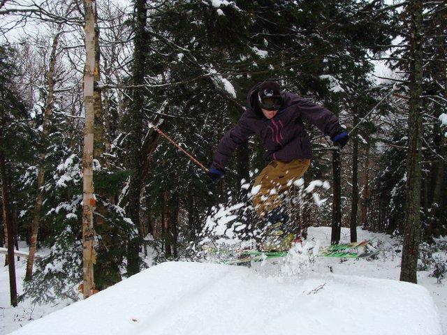 Snow is fun.