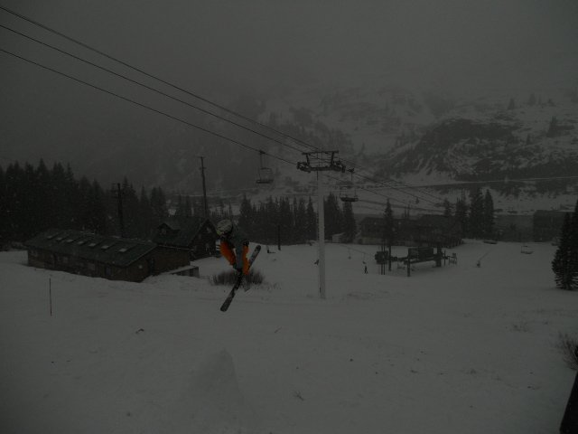Early season at alta
