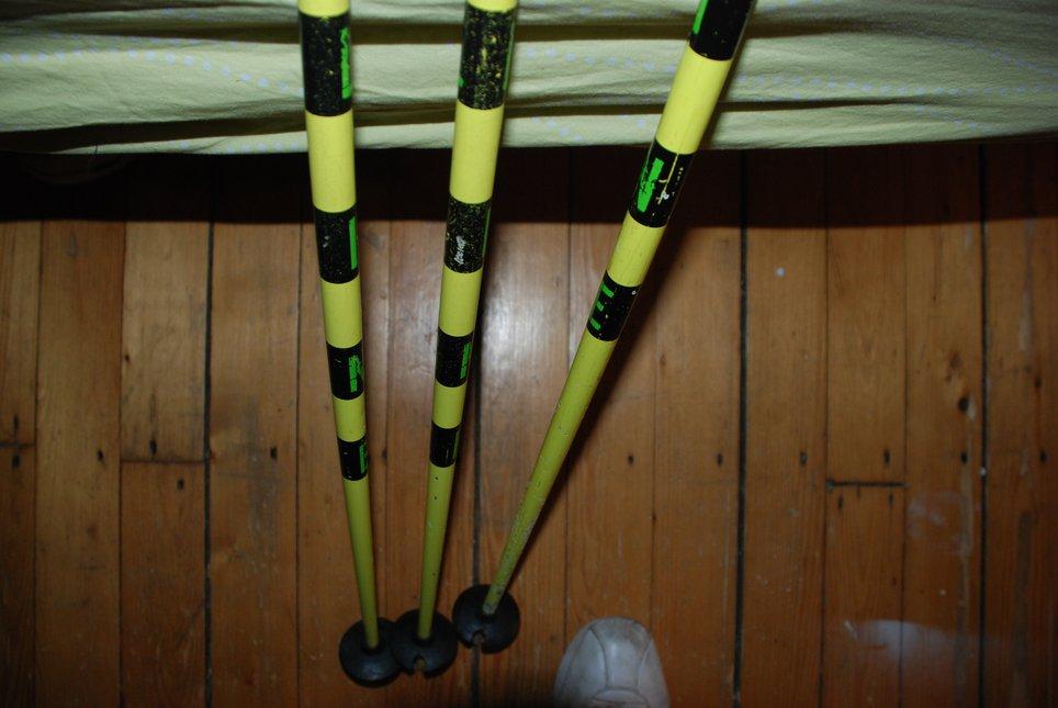 Pin poles