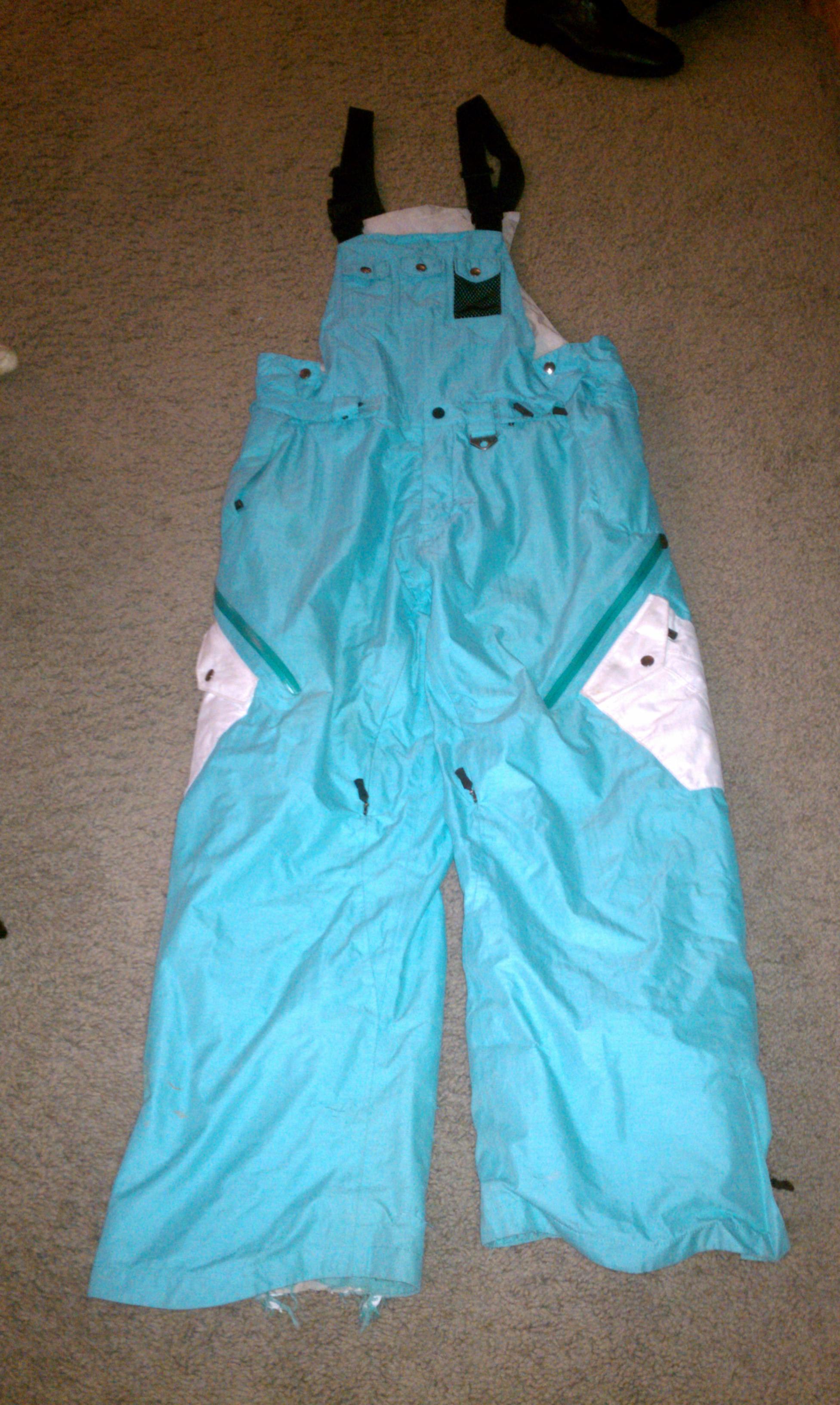 Powder Blue pants, front