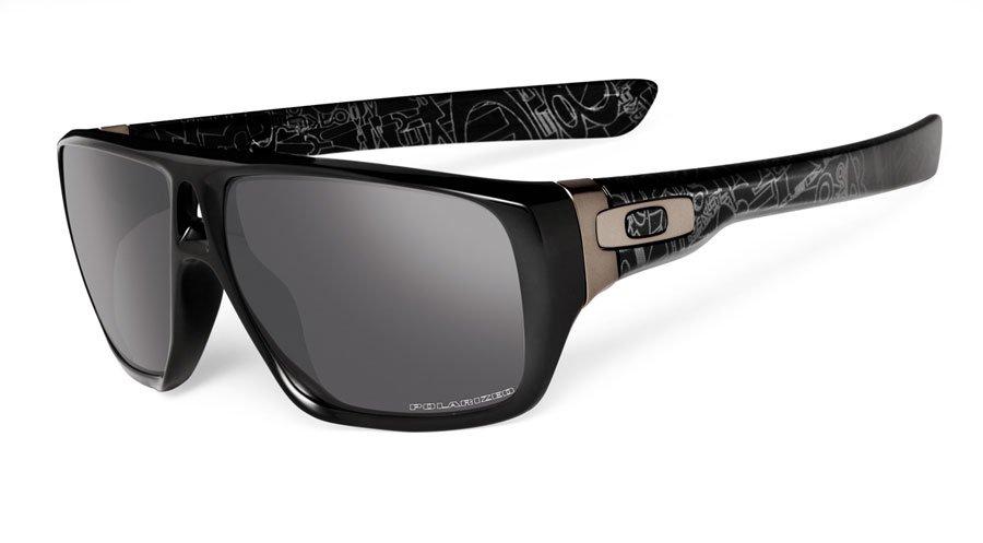 Oakley Dispatch Polarized Black/Silver Black Iridium