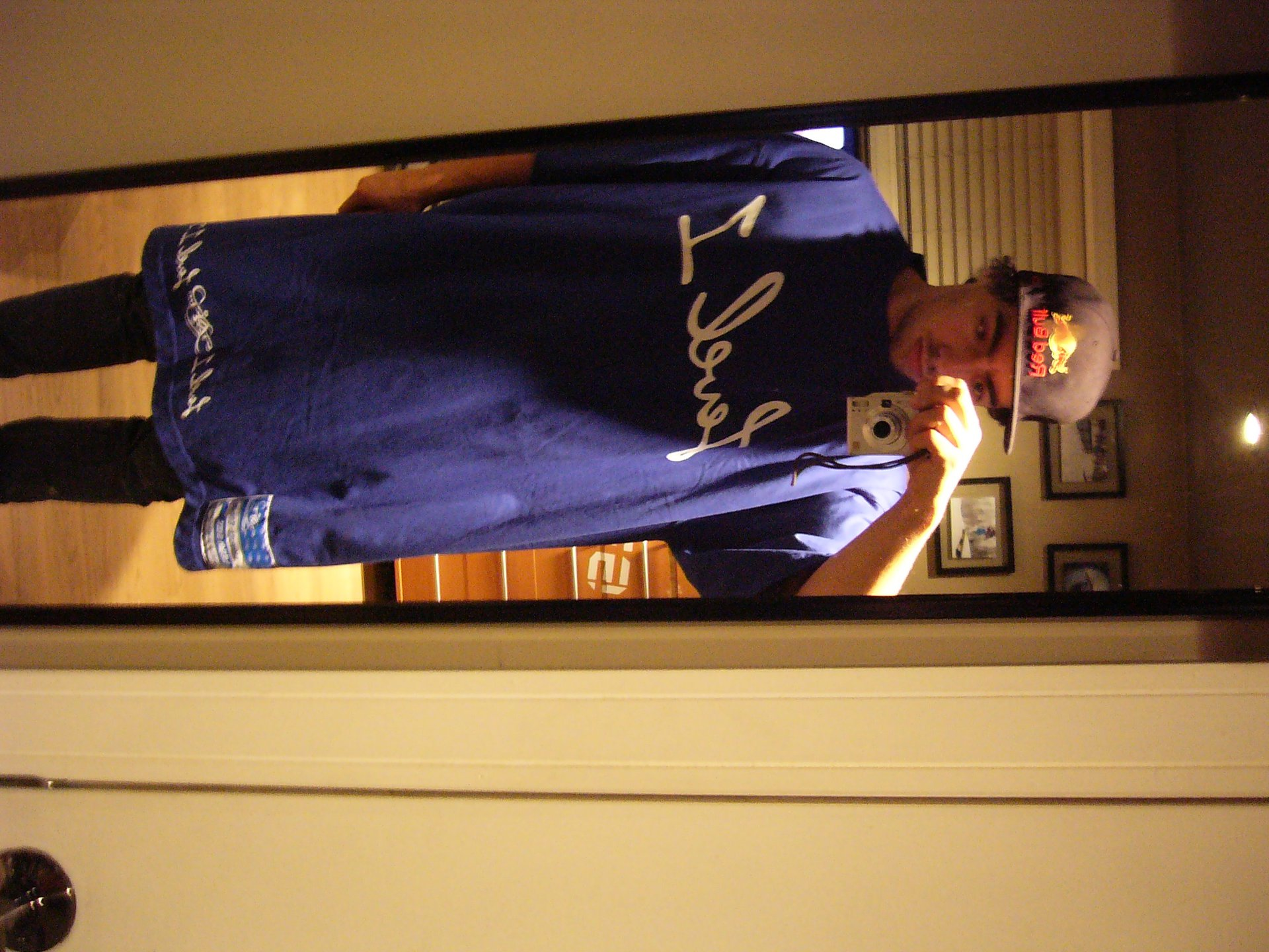Me in level 1 tall tee