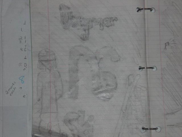 My ski drawing
