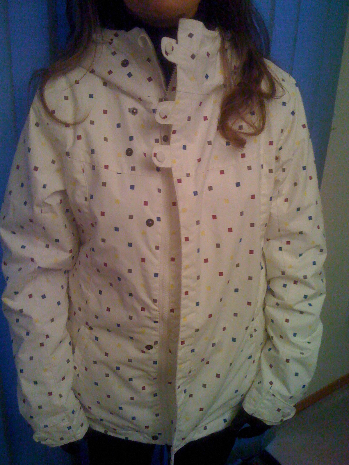 White girls burton jacket