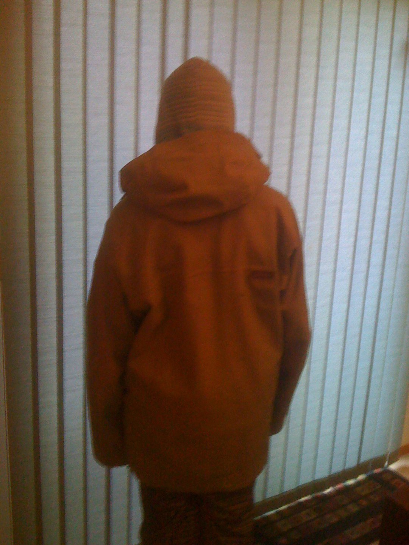 Back of columbia jacket